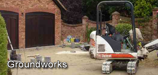 All Types of Groundworks and Drainage undertaken